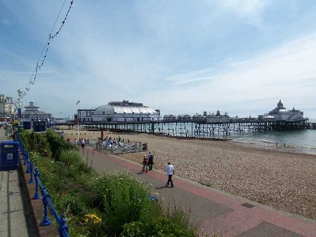 The Victorian Pier only minutes away from the apartments